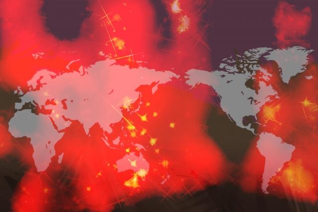 中国でのウィルス感染