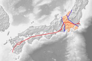 中央構造線とフォッサマグナ