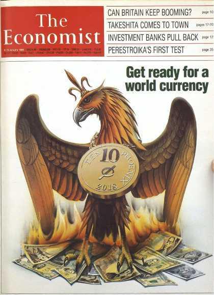 1988年エコノミスト表紙